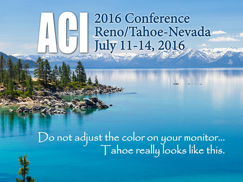 2016 ACI Conference